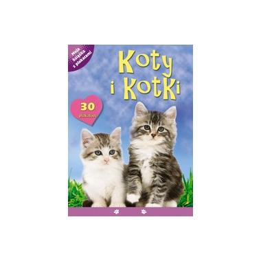 Koty i kotki moja książka z plakatami