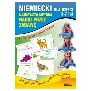 Niemiecki dla dzieci 3-7 lat karty obrazkowe czytanie globalne