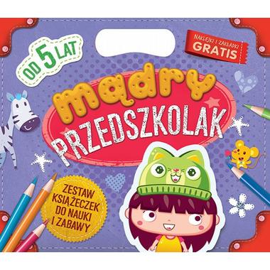 Mądry przedszkolak od 5 lat zestaw książeczek do nauki i zabawy