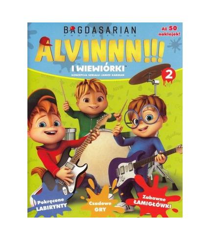Alvinnn i wiewiórki tom 2