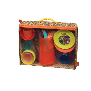 """Btoys, 25-elementowy zestaw """"piknikowy"""" w praktycznym opakowaniu"""