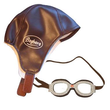 Pilotka i okulary wyścigowe - Baghera