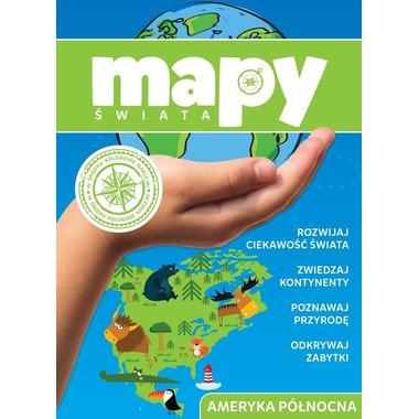 Ameryka północna mapy świata