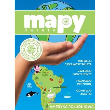 Ameryka południowa mapy świata