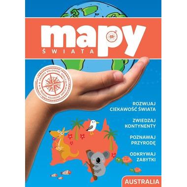 Australia mapy świata