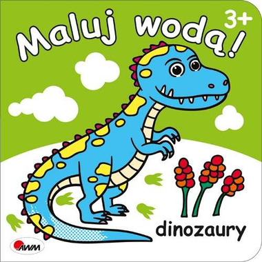 Dinozaury maluj wodą