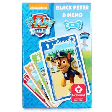 Gra czarny piotruś memo psi patrol