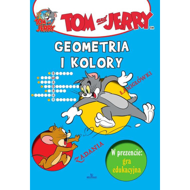 Geometria i kolory tom i jerry