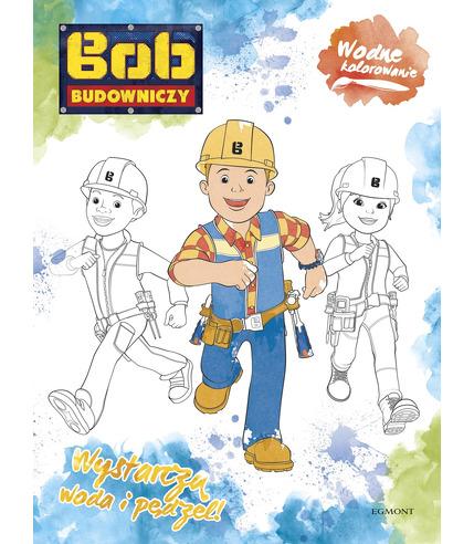Bob budowniczy wodne kolorowanie
