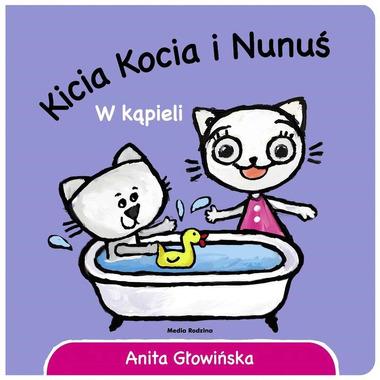 Kicia kocia i nunuś w kąpieli