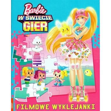 Barbie w świecie gier filmowe wyklejanki