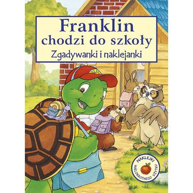 Franklin chodzi do szkoły zgadywanki i naklejanki