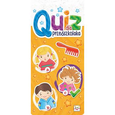 Quiz dla przedszkolaka