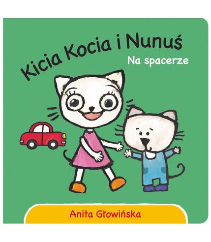 Kicia kocia i nunuś na spacerze