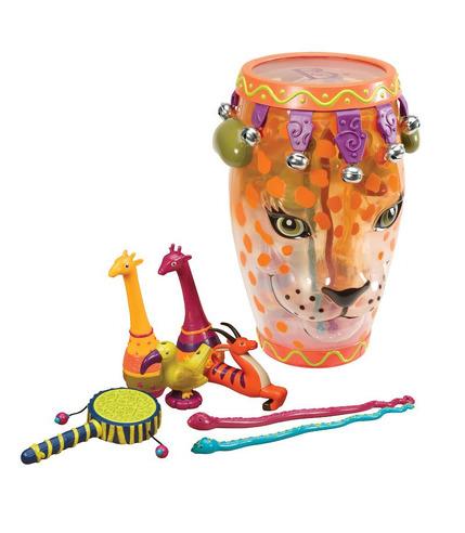 Jungle Jam -  instrumenty w bębnie konga