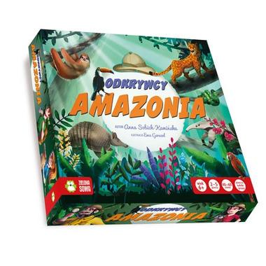 Gra odkrywcy amazonia