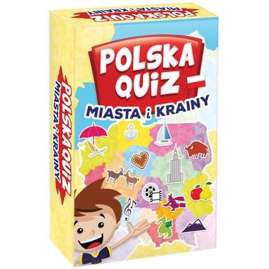 Gra quiz polska miasta i krainy