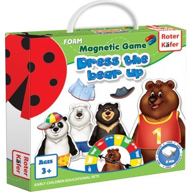 Gra magnetyczna ubierz misia dress a bear up rk3203-01