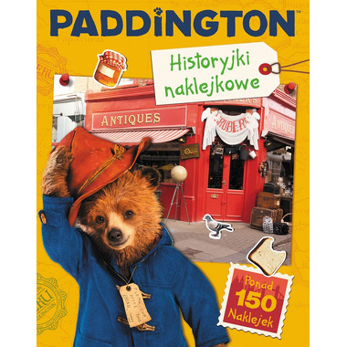 Paddington 2 historyjki naklejkowe