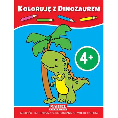 Koloruję z dinozaurem