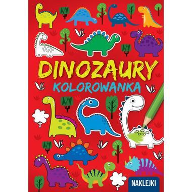 Dinozaury kolorowanka a4