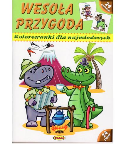 Wesoła przygoda kolorowanki dla najmłodszych wyd. 2