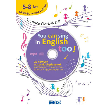 You can sing in english too + cd