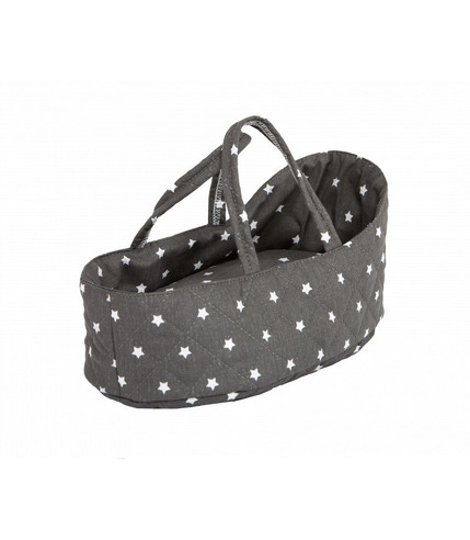 Barrutoys, Nosidełko dla lalek Stars Grey 36 cm