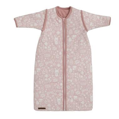 Little Dutch, Śpiworek z odpinanymi rękawkami 90 cm Adventure Pink