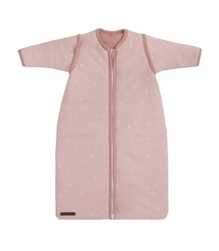 Little Dutch, Śpiworek z odpinanymi rękawkami 90cm Little stars Pink