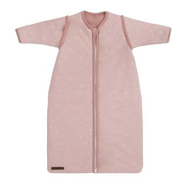Little Dutch, Śpiworek z odpinanymi rękawkami 110cm Little stars Pink