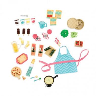 Lori, Gourmet Market - zestaw akcesoriów – Urządzamy przyjęcie - dla lalek