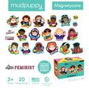 Mudpuppy, Zestaw magnesów Niezwykłe kobiety 20 elementów