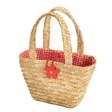 Egmont toys, Shoper bag naturalny z kwiatkiem