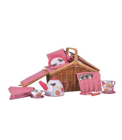 Egmont toys, Zestaw herbaciany Maki w wiklinowym koszyczku