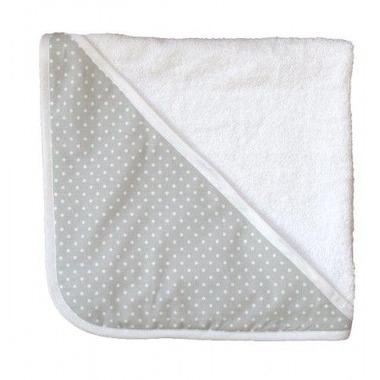 Ręcznik Kąpielowy Szarość w kropki rozm. 95cm x 95cm Effii