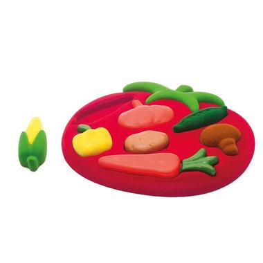 Rubbabu, Sorter Puzzle 3D Warzywa sensoryczny