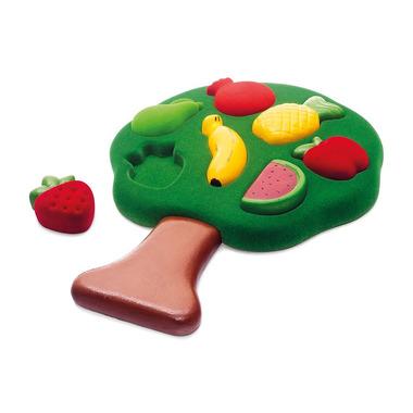 Rubbabu, Sorter Puzzle 3D Owoce sensoryczny