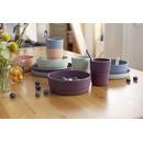 Lassig, Zestaw talerzy bambusowych Mint / Blueberry