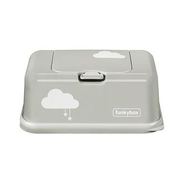 Funkybox, Pojemnik na Chusteczki Light Grey Cloud