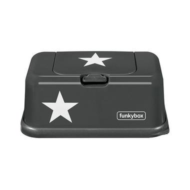 Funkybox, Pojemnik na Chusteczki Dark Grey White Star