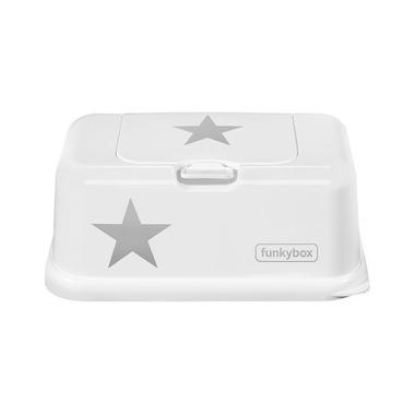 Funkybox, Pojemnik na Chusteczki White Silver Star