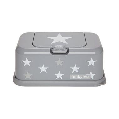 Funkybox, Pojemnik na Chusteczki Grey White Star