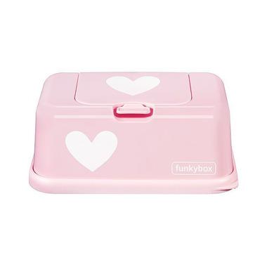 Funkybox, Pojemnik na Chusteczki Pink White Heart