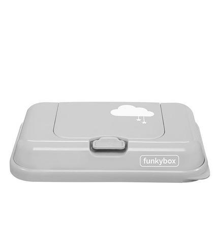 Funkybox, Pojemnik na Chusteczki To Go Light Grey Cloud