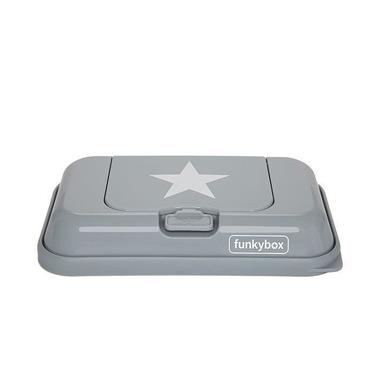 Funkybox, Pojemnik na Chusteczki To Go Grey White Star