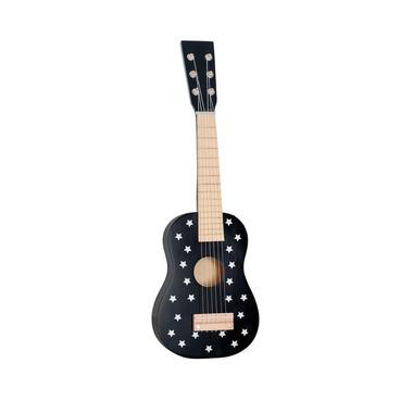 JaBaDaBaDo, drewniana gitara czarna gwiazdki