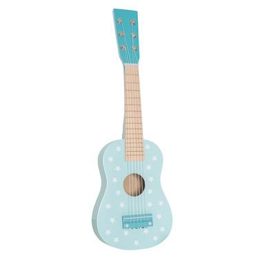 JaBaDaBaDo, drewniana gitara pastelowy niebieski