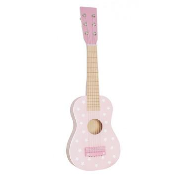 JaBaDaBaDo, drewniana gitara pastelowy różowy