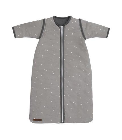 Little Dutch, Śpiworek z odpinanymi rękawkami 70 cm Little stars Grey